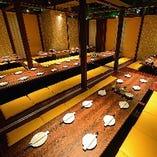 大規模宴会にも個室が利用可能です!…最大60名様までの個室♪