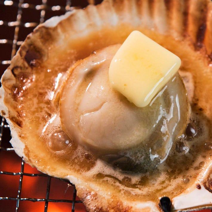 -北海道産魚介類-新鮮な新味あり。