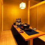 2名様から利用可能な完全個室は襖で、壁の取り外しが可能◆団体様も個室宴会◆