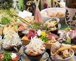 名物料理たっぷりの食材に拘った御宴会をお楽しみ下さい。