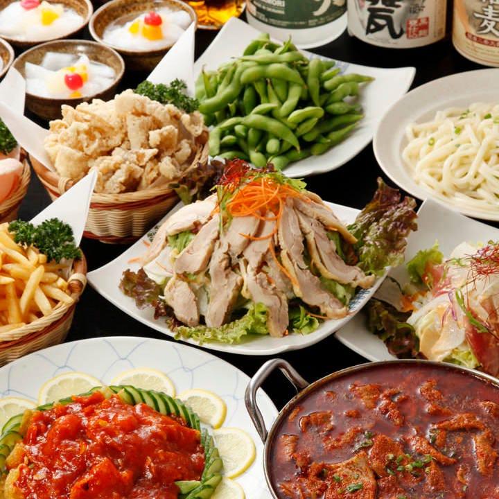 広東四川料理が並ぶオーダー式食べ放題がなんと2,480円!