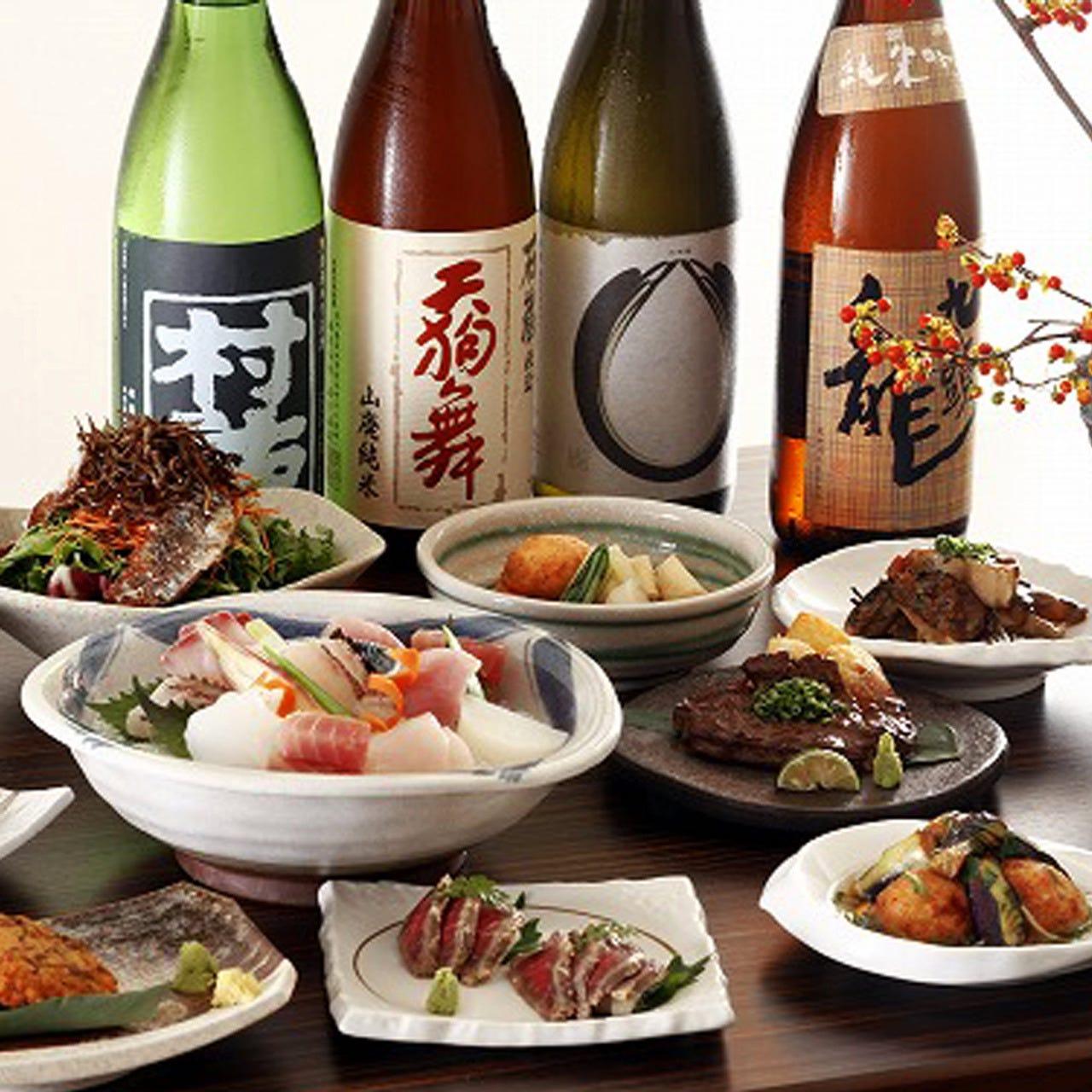 季節を楽しむ宴会コース3.500円~