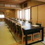 2階の個室は最大25名様まで可 各種ご宴会にご利用頂けます