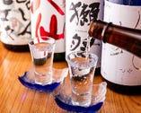 【地酒】 全国各地から厳選した美味しい日本酒を取り揃え