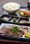 島根県産幻の和牛かつべ牛 炙り焼き定食