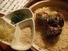 ☆新秋刀魚腸焼き土鍋炊き込みごはん 2~3人様用