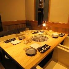 ◆オトナ空間で過ごす贅沢なひととき