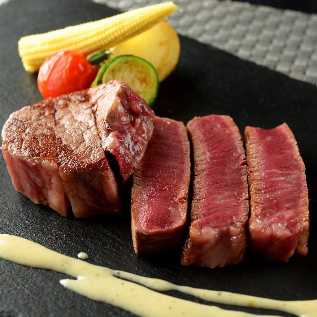 旨みあふれる!鉄板料理 極み肉