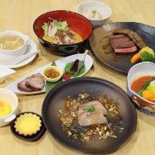 中華割烹を堪能するコース4種