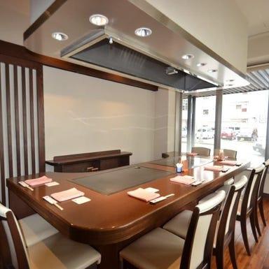 鉄板焼ステーキレストラン 碧 東町本店 店内の画像