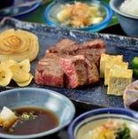 【お料理9品】メインディッシュのステーキをお選び下さい。