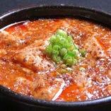 麻婆豆腐のほか、自家製ソースの棒棒鶏も人気!