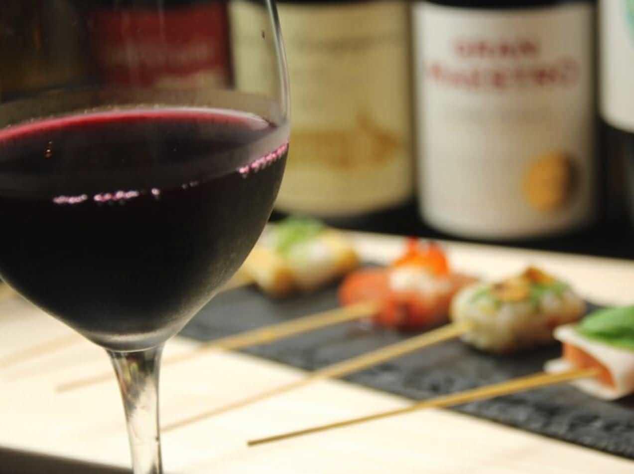 ワイン、地酒やビールの種類も豊富