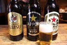 ビンビール大瓶3種!