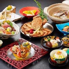 季節感にこだわった正統派日本料理