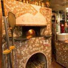 チェザリ オリジナルの本場薪窯