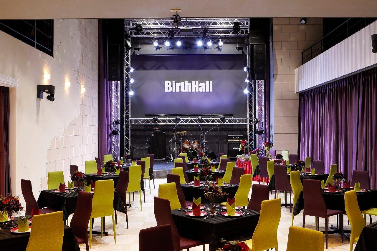 宴会パーティーやライブやイベントまで、様々なシーンに対応!