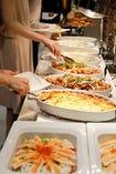 企業宴会やイベントなどに大人気!自慢のビュッフェ料理も好評♪