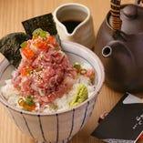 食事も充実♪海鮮丼に油麩丼。締めが良ければ全てよし!