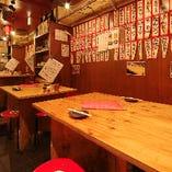 昭和の雰囲気を感じるレトロな店内☆宴会もご利用可能です♪