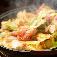 野菜×鶏×八丁味噌の絶妙なバランス