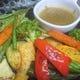 旬野菜の鉄板焼き 自家製バーニャカウダソースで召し上がれ!