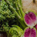 オーナー自ら収穫した新鮮野菜たち【香川県綾歌郡】