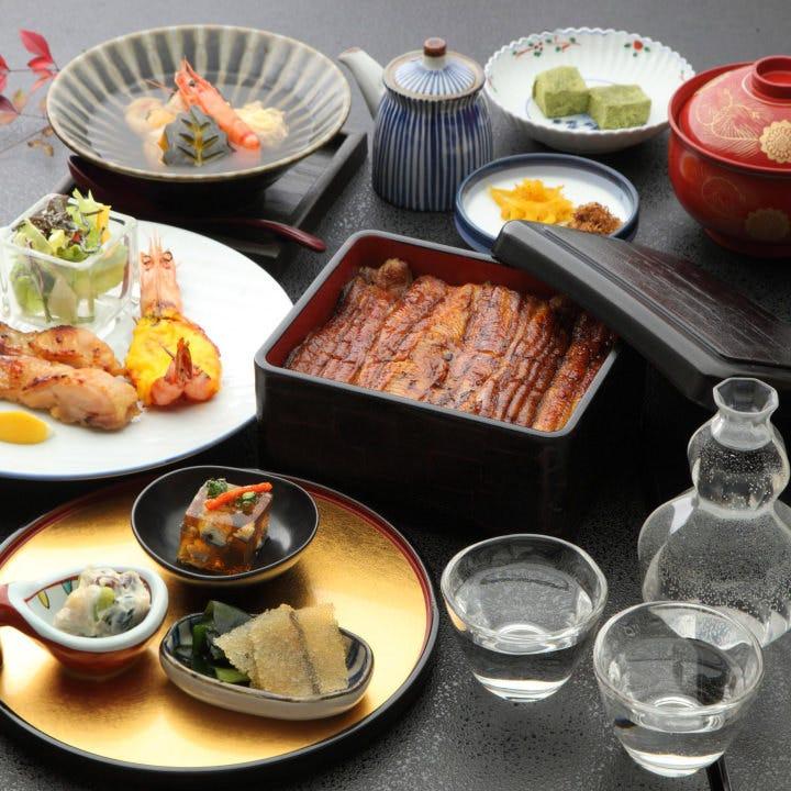 140年の伝統の技と旬の幸が魅せる宴会コースは5000円~(税抜)
