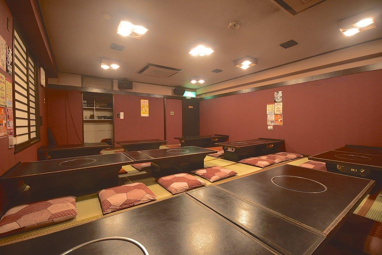 完全個室の大宴会場