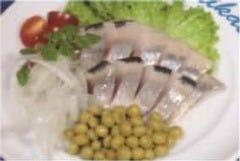 塩漬けニシンと玉ねぎのマリネ