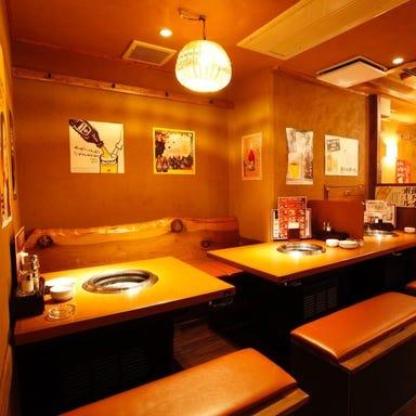 焼肉 和家(なごみや) 上野店 店内の画像