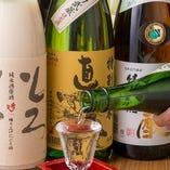 地酒の直実含め、日本酒が20種類以上!