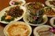 北京ダック専門店ならではの鴨前菜。