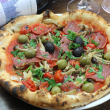 Popolo  ‐Salami & Mushrooms ポポロ