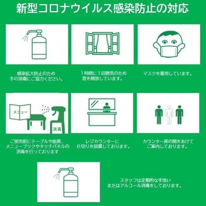 新型コロナウイルス感染防止の取組み
