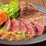 和牛赤身ステーキの量り売り!トレンドハーフポンドステーキ