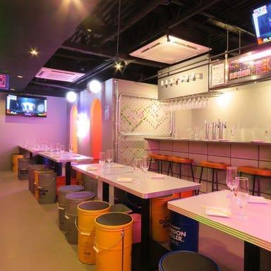 韓国料理 サムギョプサル ナッコプセ ばぶばぶ 梅田店 店内の画像