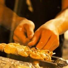 朝挽きのもつ串は絶対食べて頂きたい