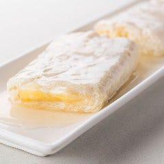 『黄身が白い卵を使用』白い卵のチーズ出汁巻き玉子