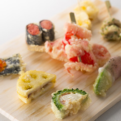 揚げたてサクサクが楽しめる天ぷら