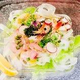 本日の鮮魚のカルパッチョミスト