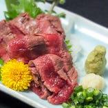 馬肉専門業者から直!!新鮮馬肉料理【アルゼンチン】