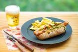 ピザジェノベーゼホットドッグ/Pizza Genovese Hot Dog