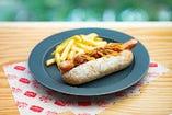 チリビーフ&チーズホットドッグ/ Chili Beef & Cheese Hot Dog