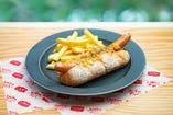 レットチェダーチーズホットドッグ/Red Cheddar Cheese Hot Dog
