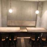 【ソファ席】ゆっくり食事を楽しめる個室席