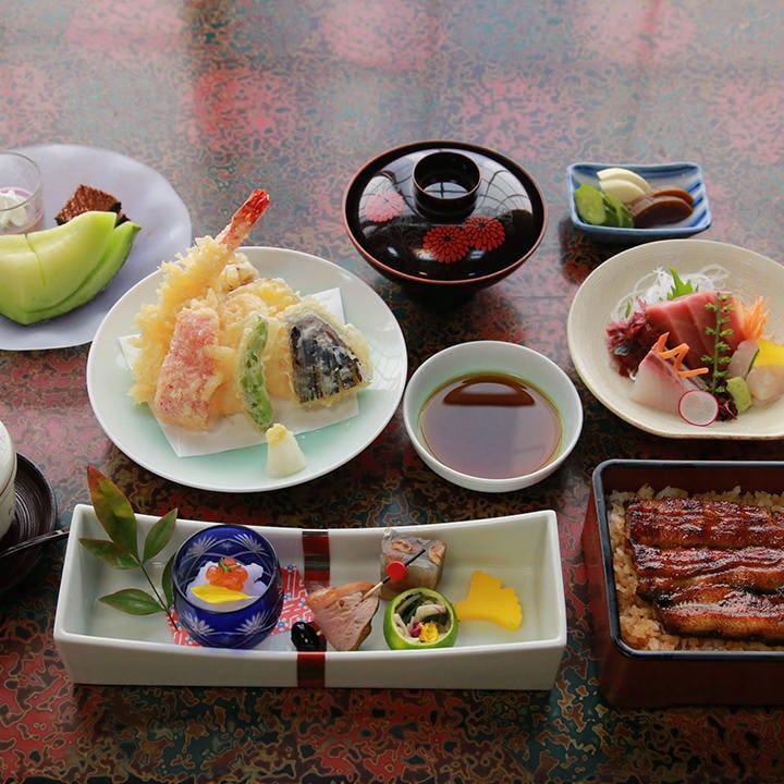 うな重お食事コース 5,800円(税抜)〈全8品〉歓送迎会・宴会・飲み会