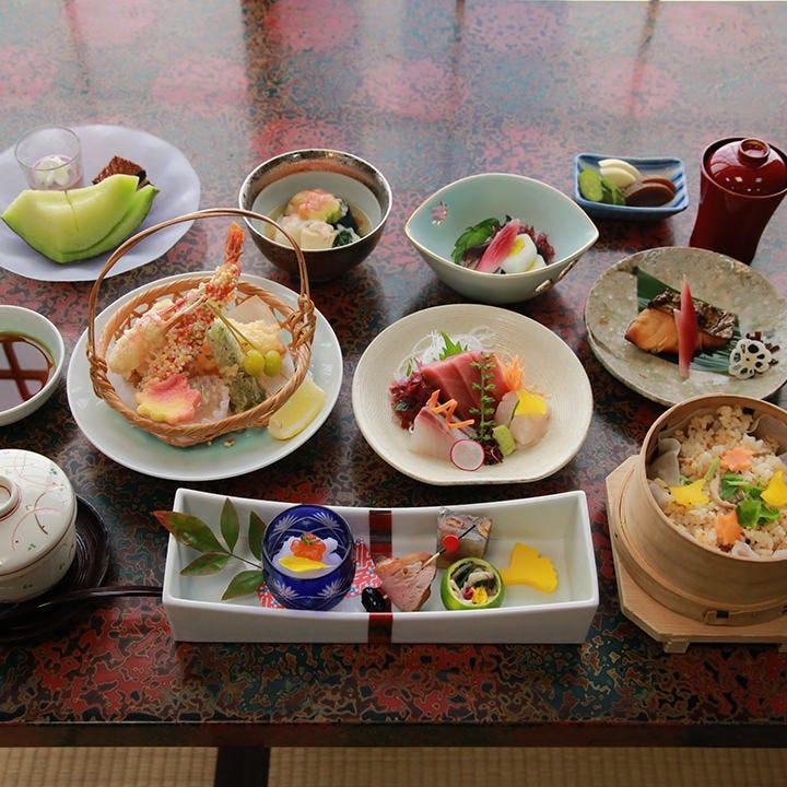 会席料理コース 6,000円(税抜)〈全9品〉歓送迎会・宴会・飲み会
