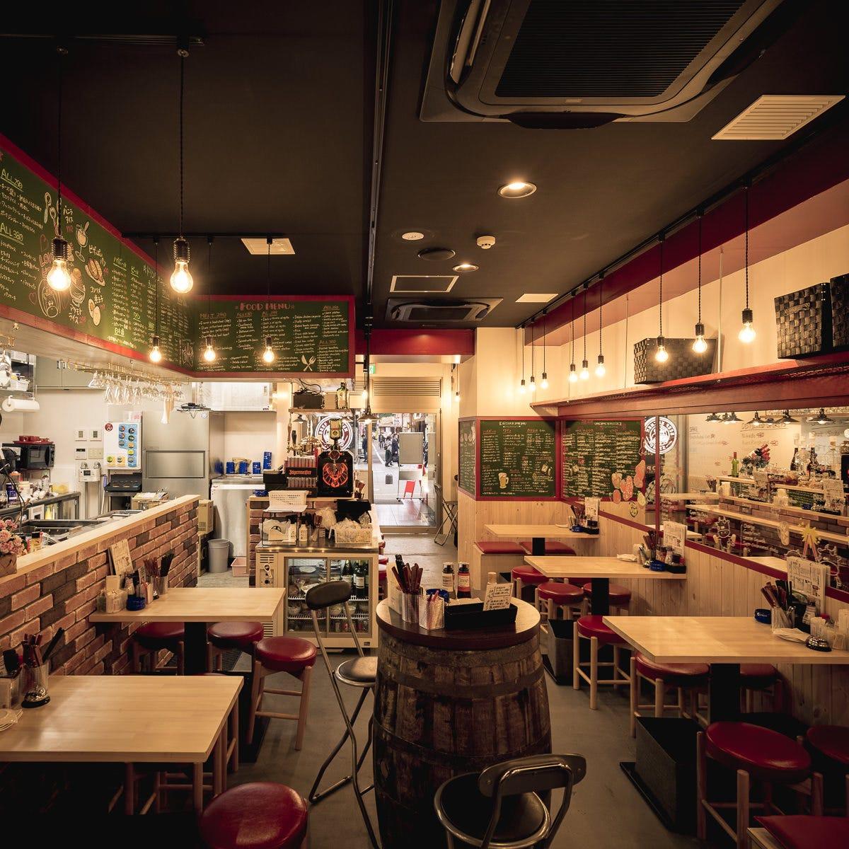 ビーフ キッチン スタンド 新宿