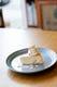 梨のチーズケーキ、シャキシャキ感がアクセント◎